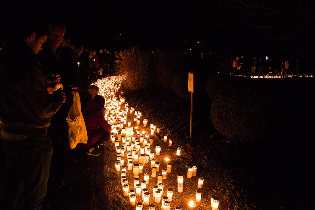 the celebration of allhelgonadagen or all saints day is the traditional all hallows celebration in sweden it takes place on the saturday and sunday